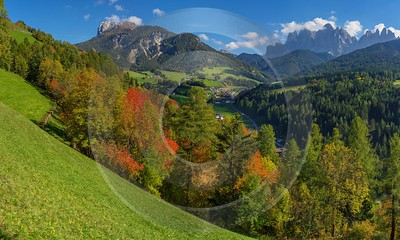 San Pietro South Tyrol Italy Panoramic Landscape Photography Senic Prints Photo - 017290 - 12-10-2015 - 17921x10762 Pixel