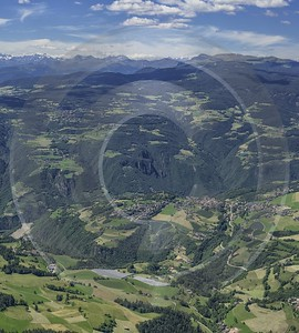 Tires Tiers Tschafonhuette Summer Tree Color Dolomites Panorama Stock Cloud Autumn Panoramic - 024826 - 15-06-2018 - 12422x13810 Pixel