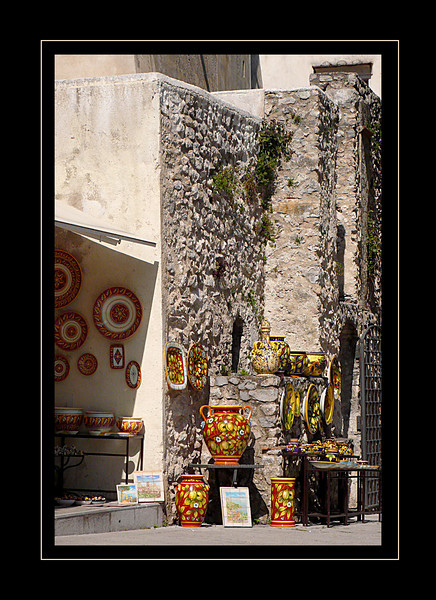 41. Pottery shop in Ravello