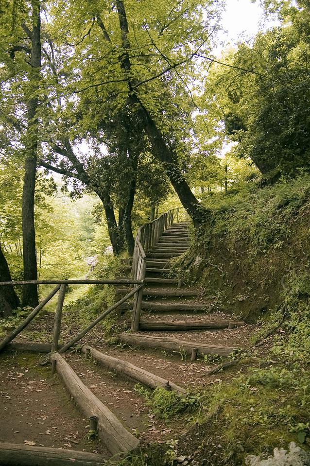 35. Pathway in Villa Cimbrone, Ravello, Italy