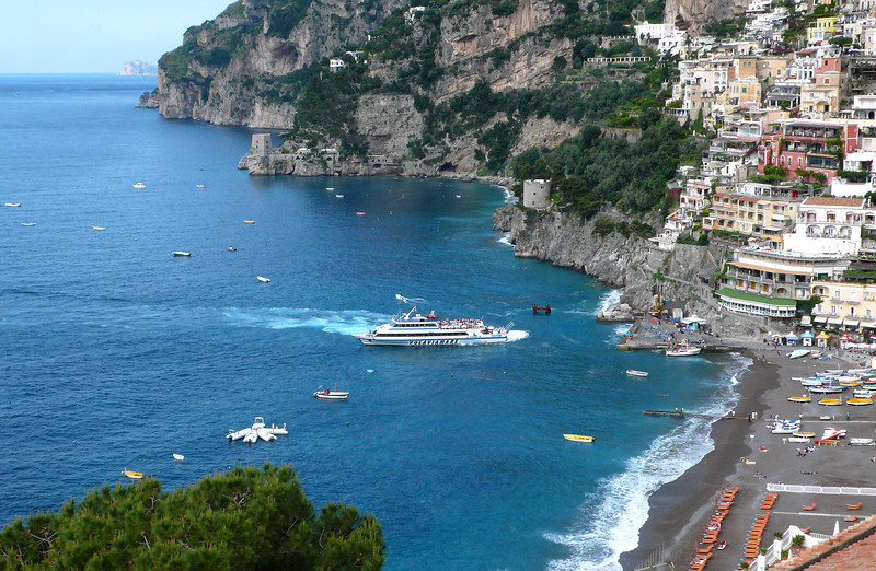 14. Positano Harbor