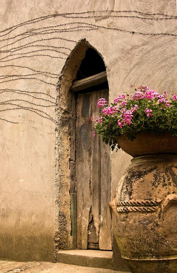 9. Doorway at Villa Cimbrone<br /> Ravello, Italy