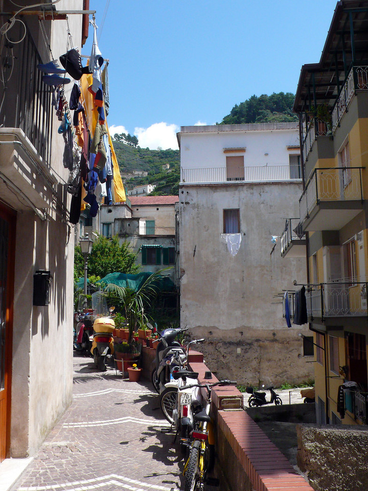 40.  Street in Minori