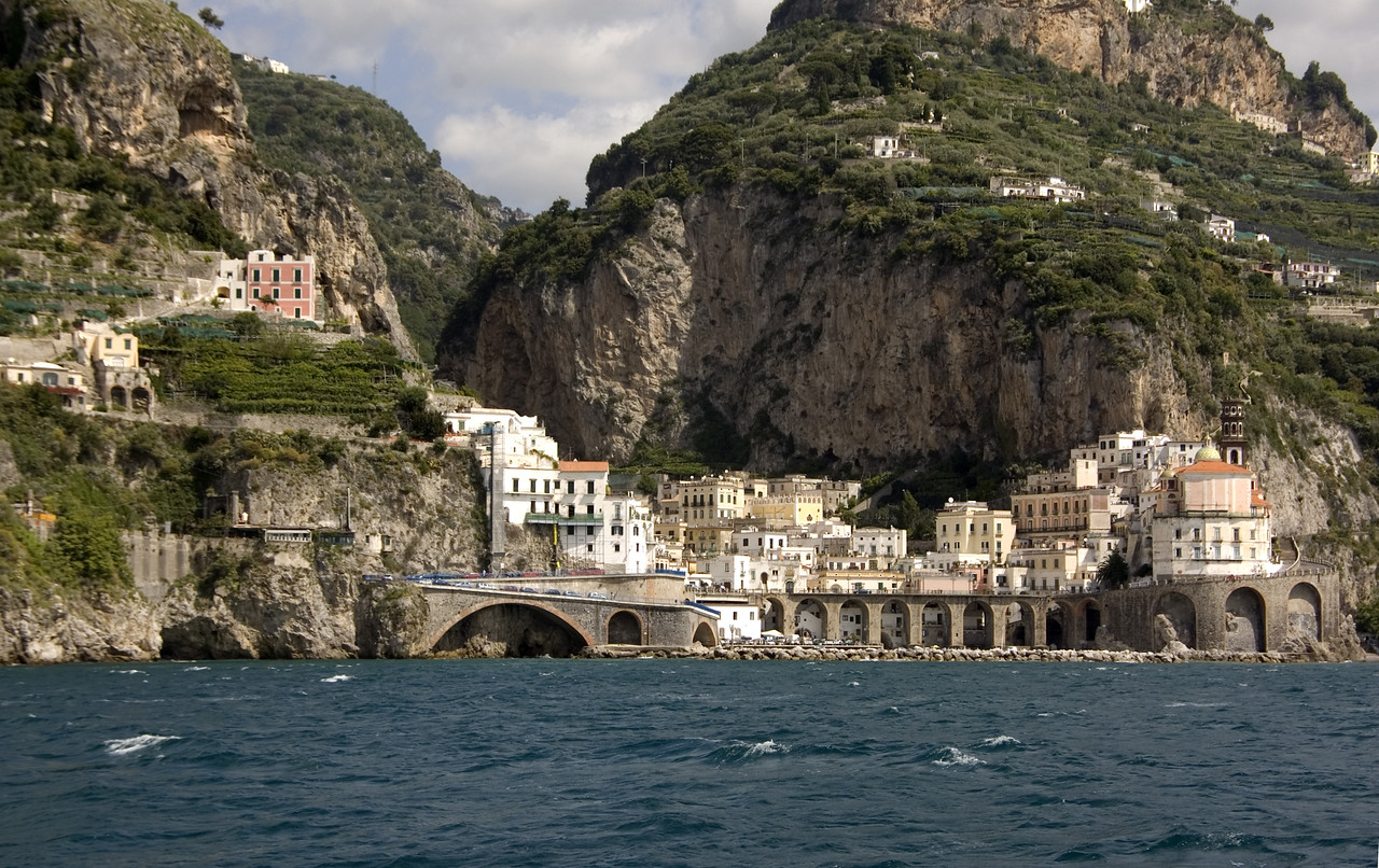 12. Boat ride from Amalfi to Salerno
