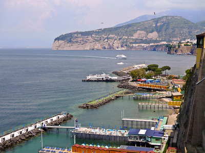 Bay of Naples at Sorrento