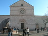 Basilica of St. Clare, where the saint is buried.<br /> <br /> Basilica di Santa Chiara, dove riposa il corpo della santa.