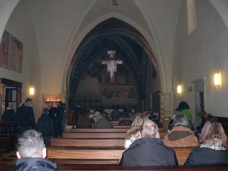 Basilica of St. Clare.<br /> <br /> Basilica di Santa Chiara.