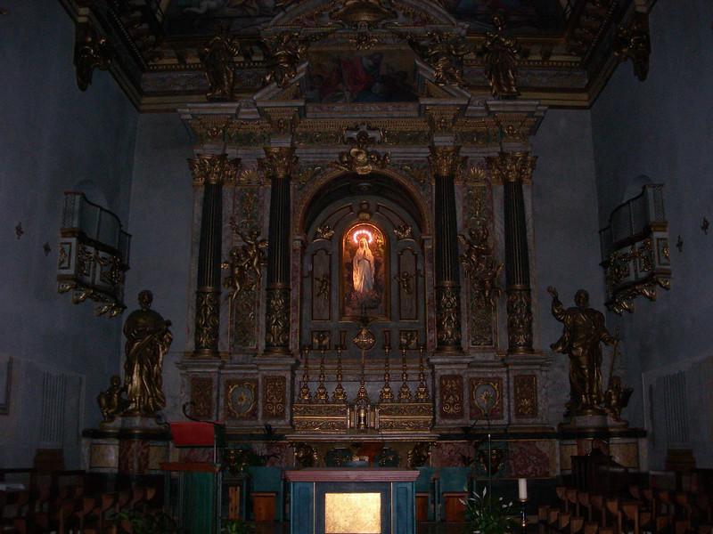 Interior of Minerva's temple<br /> <br /> Interno tempio di Minerva