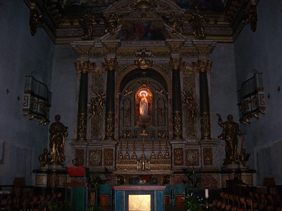 Interior of Minerva's temple  Interno tempio di Minerva