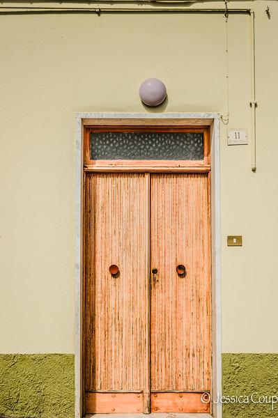 Orange Doorway