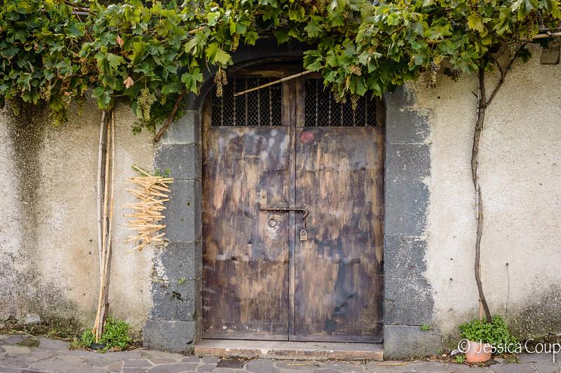 Brown Doorway