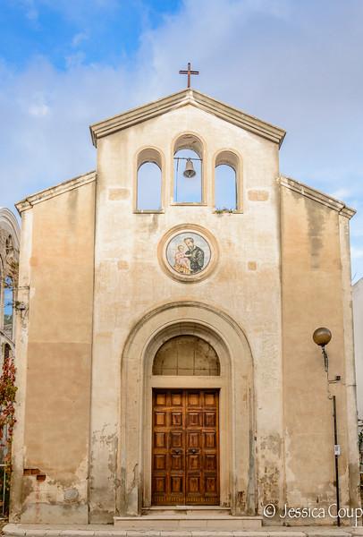 Tiny Church in Bernalda