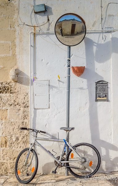 Bicicletta in Matera