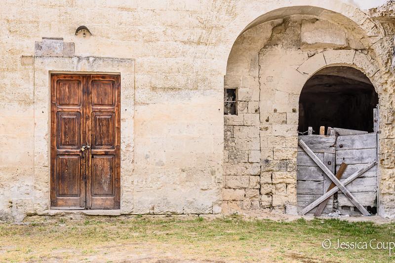 New Doorway, Old Doorway