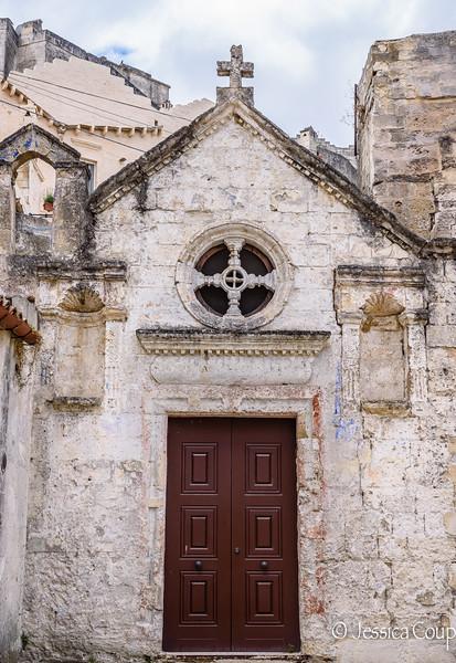 The Tiny Church of Matera