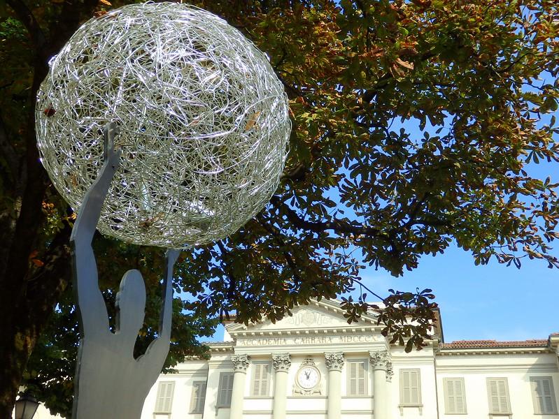 The recently re-opened Accademia Carrara in Bergamo