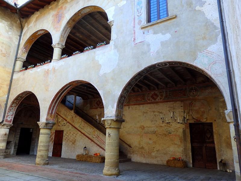 Visiting Malpaga Castle