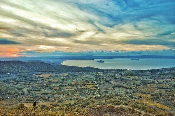 """Lago di Bolsena"" - From Montefiascone, Italia"