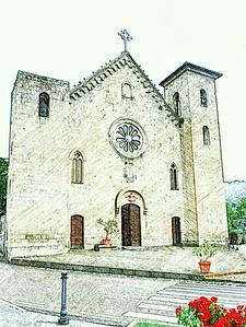 """Chiesa"" - Bolsena, Italia"