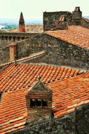 """""""Terracotta and Chimneys"""" - Bolsena, Italia"""