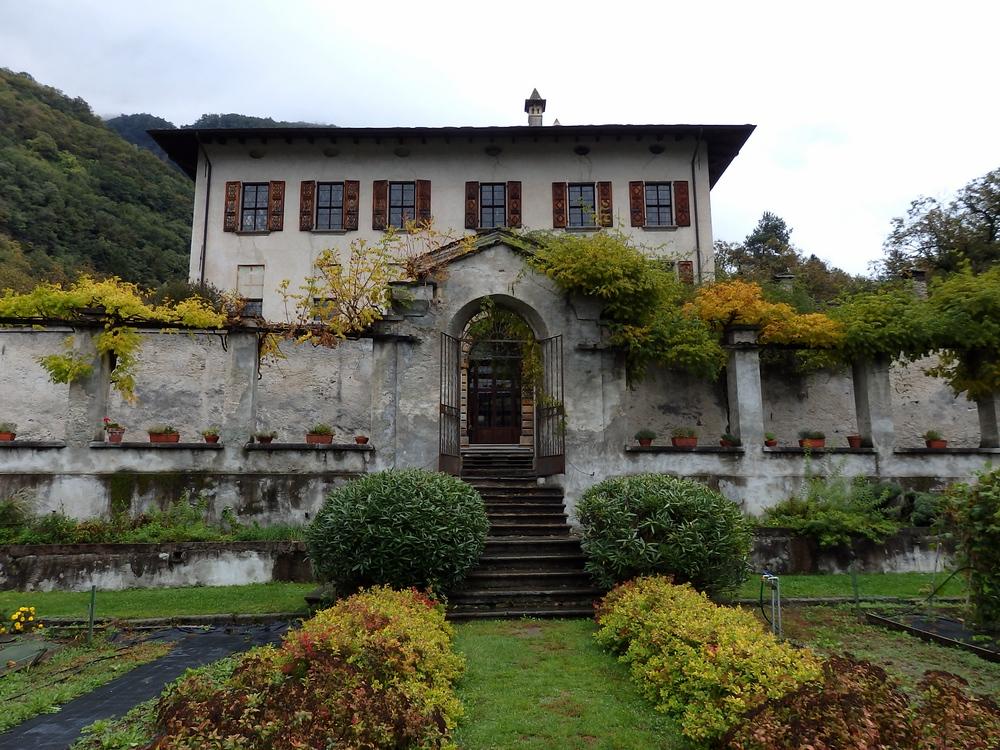 Vertemate Franchi Castle in Prosto di Piuro
