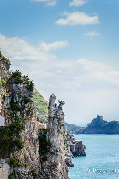 Virgin Mary Rock Formation