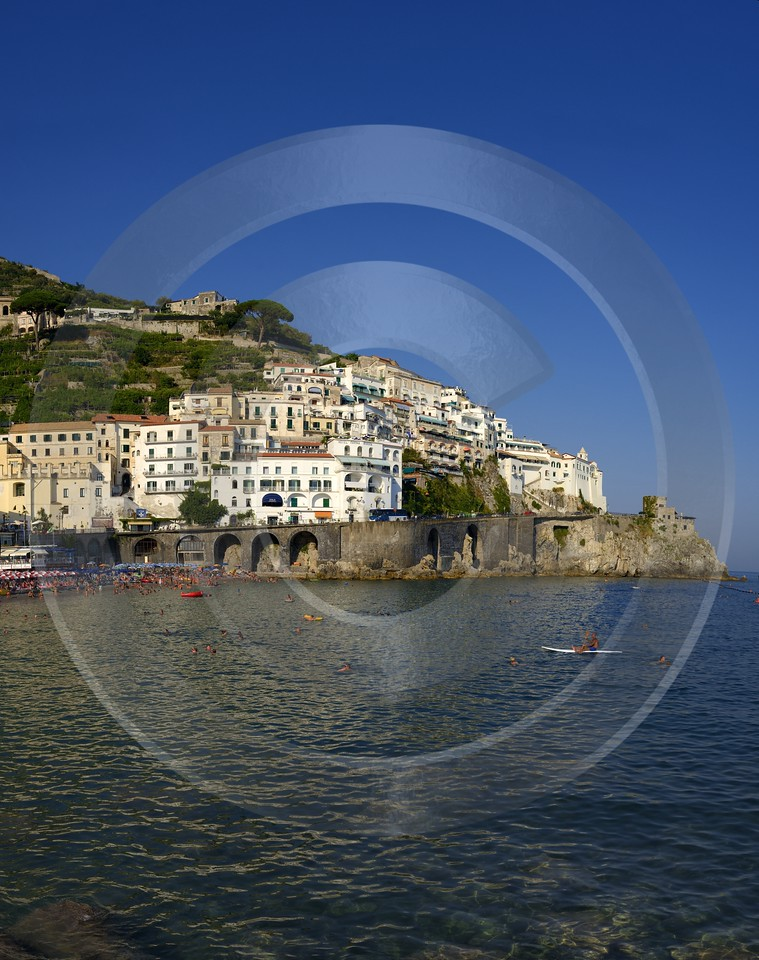 Amalfi Beach Town Italy Campania Summer Sea Ocean Ice Order Grass Sale Fine Art Posters Outlook - 013453 - 08-08-2013 - 6971x8822 Pixel