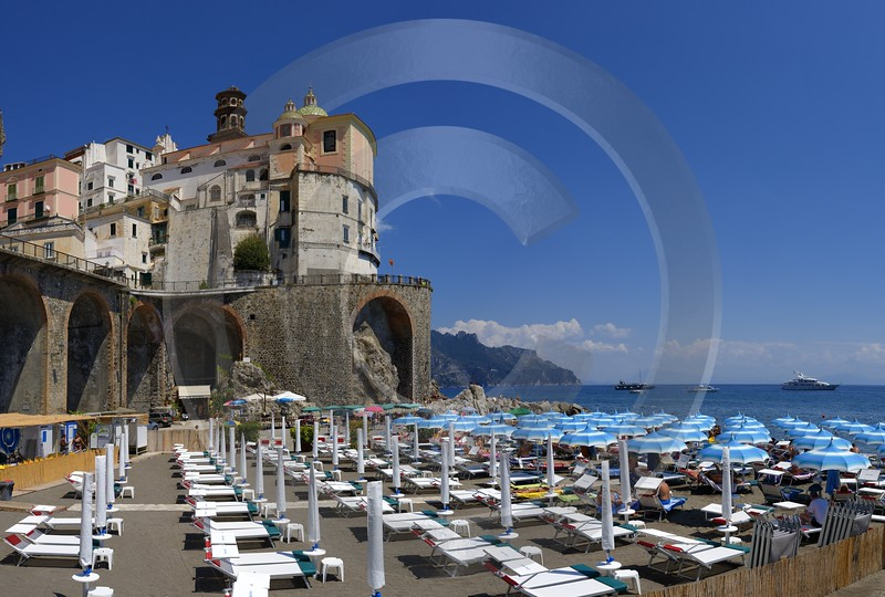 Atrani Italy Campania Summer Sea Ocean Viewpoint Panorama Panoramic Snow Ice Country Road River - 013538 - 10-08-2013 - 10953x7394 Pixel