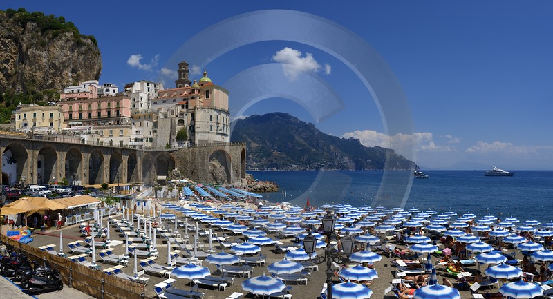 Atrani Italy Campania Summer Sea Ocean Viewpoint Panorama Landscape Fine Art Photography Prints - 013539 - 10-08-2013 - 11560x6250 Pixel