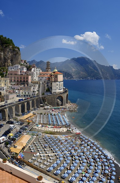 Atrani Italy Campania Summer Sea Ocean Viewpoint Panorama Fine Art Prints Fine Art Posters Leave - 013537 - 10-08-2013 - 6700x10261 Pixel