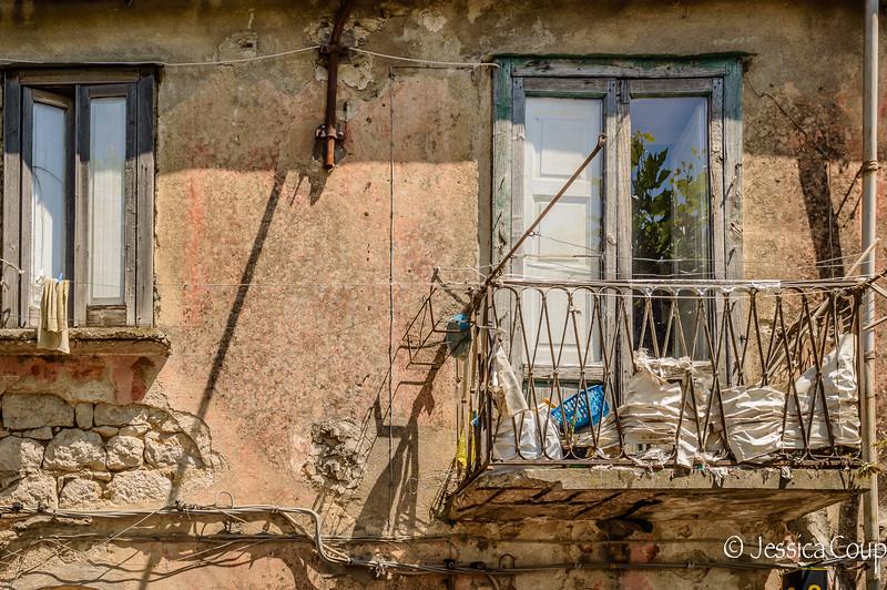 Old Balcony of Buccino
