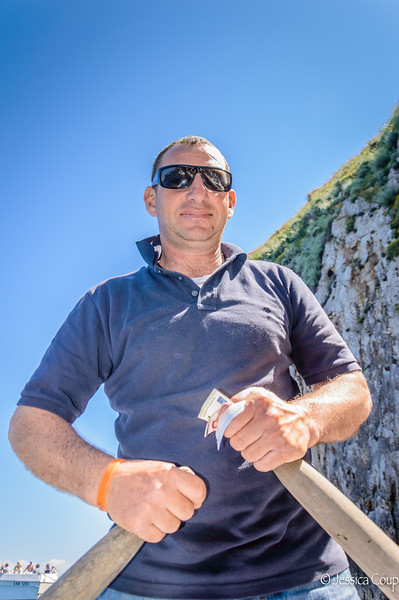 Captain of the Blue Grotto