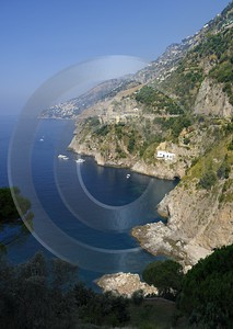 Conca Dei Marini Tyrrhenian Sea Town Italy Campania Ice Photo Fine Art Printer Fine Art Nature - 013323 - 06-08-2013 - 6715x9472 Pixel