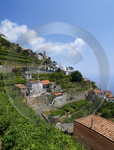 Furore Italy Campania Summer Sea Ocean Viewpoint Panorama Prints For Sale - 013572 - 12-08-2013 - 6359x8419 Pixel