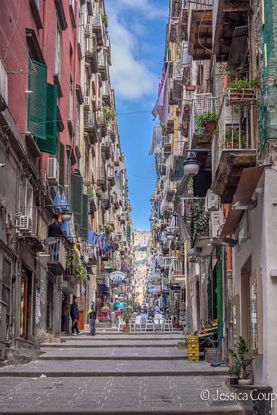 Typical Naples Street