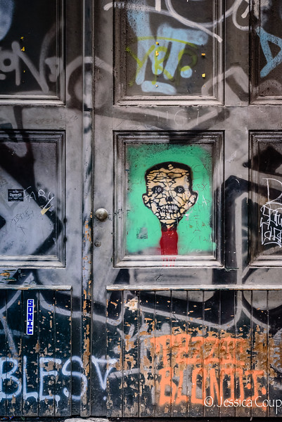 Face on the Door