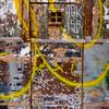 Metal Graffiti Doorway