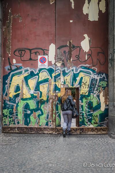 Little Graffiti Door