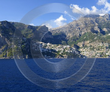 Positano Italy Campania Summer Sea Ocean Viewpoint Panorama Hi Resolution Prints For Sale Fine Arts - 013720 - 14-08-2013 - 6862x5721 Pixel