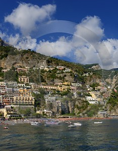 Positano Italy Campania Summer Sea Ocean Viewpoint Panorama Fine Art Photographer Leave - 013731 - 14-08-2013 - 6088x7791 Pixel