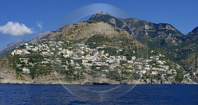 Praiano Italy Campania Summer Sea Ocean Coast Viewpoint Modern Art Prints Fine Art Photography City - 013509 - 10-08-2013 - 12140x6431 Pixel