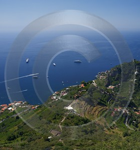 Ravello Tyrrhenian Sea Town Italy Campania Summer Viewpoint Fine Art Photography Prints - 013259 - 05-08-2013 - 6989x7525 Pixel