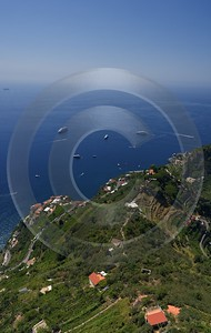 Ravello Tyrrhenian Sea Town Italy Campania Summer Viewpoint Fine Art Nature Photography Shoreline - 013253 - 05-08-2013 - 6927x10961 Pixel