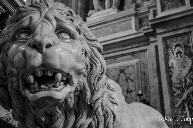 Lion in the Palace