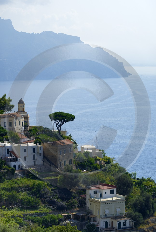 Tovere Italy Campania Summer Sea Ocean Viewpoint Panorama Fine Art Posters Autumn Park Grass - 013559 - 12-08-2013 - 7317x10857 Pixel
