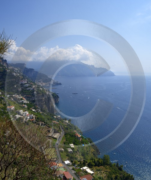 Tovere Italy Campania Summer Sea Ocean Viewpoint Panorama Fine Art Nature Photography - 013561 - 12-08-2013 - 6663x7946 Pixel