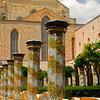Santa Chiara Cloister in Naples