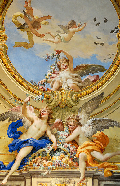 Royal Palace in Caserta - Ceiling 2