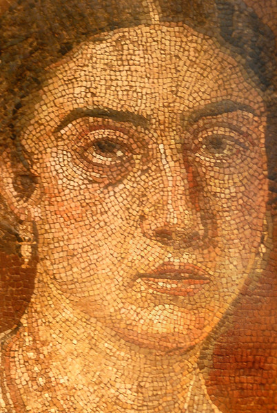 Mosaic in Naples Archaeology Museum