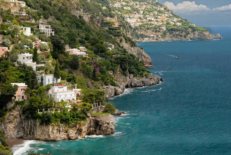 View from Positano Villa